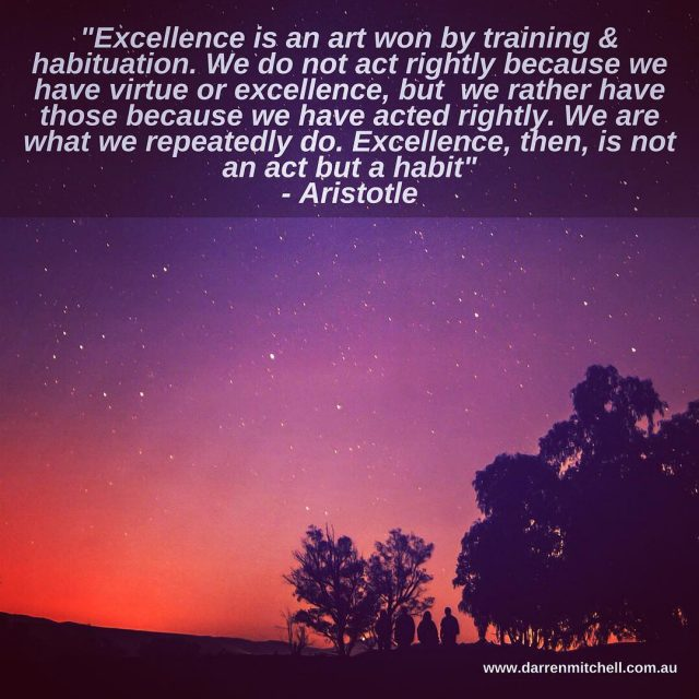 There is no magic pill to success and excellence Ithellip