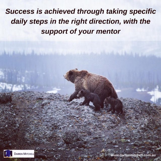 Success is achieved through the right daily activities repeated overhellip